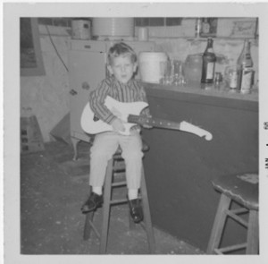 Kevin with Guitar at 5